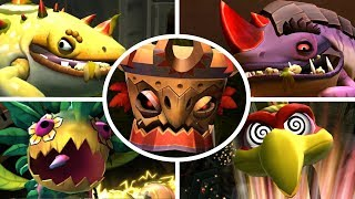 Download Donkey Kong Country Returns HD - All Bosses (No Damage) Video