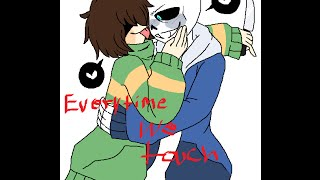 Download Chara x Sans - Everytime We Touch ~Requested By: Funny Stuffed animals~ Video