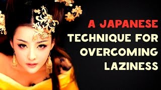 Download A Japanese Technique to Overcome Laziness Video