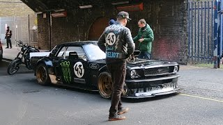 Download Ken Block in London 2016 - (Video and Pictures) Video