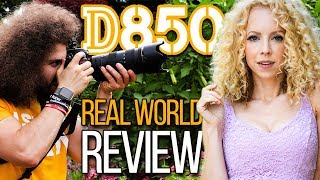 Download Nikon D850 Real World Review: Better than Canon 5D Mark IV, Nikon D5, Sony A7R II? Video