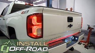 Download Chevrolet Silverado/GMC Sierra PUTCO SwitchBlade LED Tailgate Light Bar 60″ 2007-2018 Installation Video