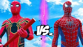 Download SPIDERMAN VS IRON SPIDER - EPIC SUPERHEROES BATTLE Video