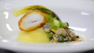Download Dover sole with fish pie flavours, sea vegetables and parsley oil Video