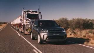 Download Land Rover Discovery Tows 110 Tonne Road Train Video