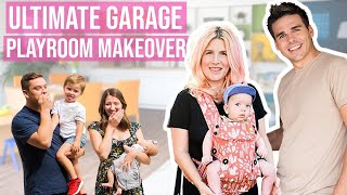 Download Ultimate Garage Playroom Makeover! Our First Project As New Parents! Video