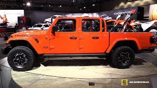 Download 2020 Jeep Gladiator Rubicon - Exterior and Interior Walkaround - Debut at 2018 LA Auto Show Video