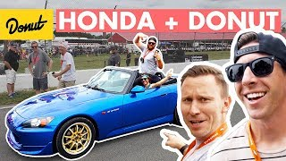 Download TJ Hunt, S2000's, and a Push-up Contest at Honda IndyCar | Donut Media Video