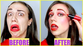 Download FULL FACE USING ONLY MIRANDA'S LIPSTICK! Video