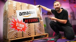 Download We Bought an $1,800 MYSTERY Crate of Amazon Returns! Video