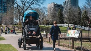 Download A Stroller Company Made A Grown-Up Version For Adults To Test Ride Video