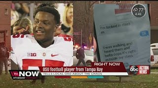 Download OSU football player from Tampa Bay prepared for campus attacks by family Video