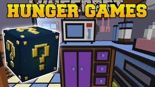 Download Minecraft: THE SIMSPONS KITCHEN HUNGER GAMES - Lucky Block Mod - Modded Mini-Game Video