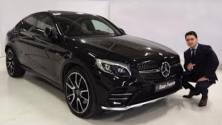 Download 2018 Mercedes AMG GLC Coupe 4MATIC - FULL Review GLC43 Start Up Drive Interior Exterior Video