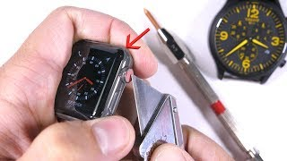 Download Scratching the $1300 dollar Apple Watch - is it really 'Sapphire'? Video