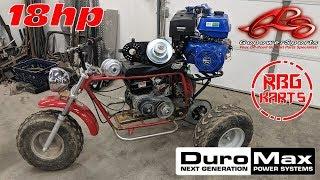 Download Mini Trike 440cc Engine Upgrade Video