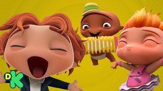 Download ¡No todo es el rock!: Los bebés descubren otros ritmos | Mini Beat Power Rockers | Discovery Kids Video