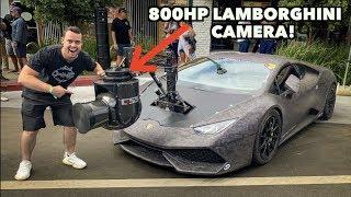 Download RARE 800HP LAMBORGHINI WITH A $1 MILLION DOLLAR CAMERA ATTACHED! Video