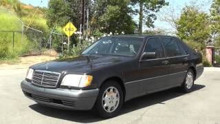 Download 1995 Mercedes Benz S500 W140 S 320 420 500 600 FOR SALE Saloon $3999 Video