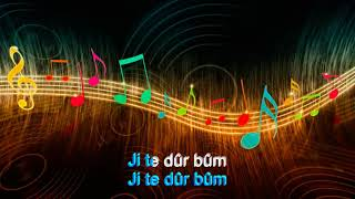 Download Ji te durbum, Karaoke, Ibrahim Rojhilat - By Mesud Mas Video