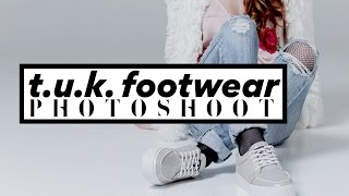 Download Fashion editorial photoshoot with T.U.K. Footwear! Video