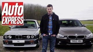 Download BMW E30 M3 vs BMW 320d - Auto Express Video
