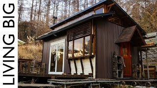 Download Majestic Off-Grid Cabin In The Japanese Mountains Video