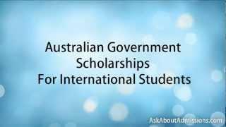 Download Australian Scholarships for International Students. Video