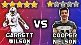 Download 5 Star Recruit vs 1 Star Recruit *WIDE RECEIVER EDITION* Video