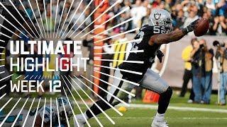 Download Khalil Mack's Tide Turning Pick 6 | Ultimate Highlight (Week 12) | NFL Video