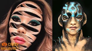 Download NO PHOTOSHOP! TOP 15 Halloween Makeup Tutorials 2018 Video