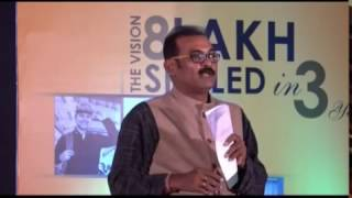 Download Odia actor Kuna Tripathy speaking to ITI students at OSDA inauguration Video