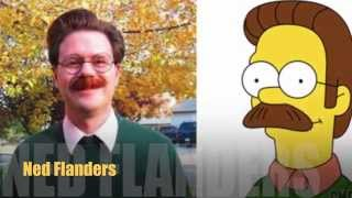 Download Simpsons are Real !! 10 Characters in Real Life .. Video