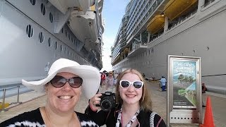 Download Boarding the Navigator of the Seas Cruise Ship ~ Royal Caribbean Vlog [ep3] Video