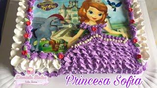 Download Confeitando bolo princesinha Sofia Video