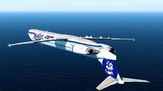 Download Flying Inverted - Alaska Airlines Flight 261 - P3D Video