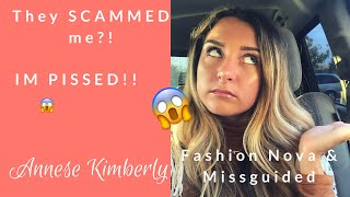Download FASHION NOVA & MISSGUIDED SCAMMED ME!? Video
