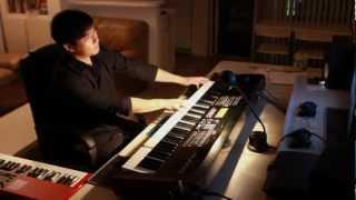 Download I'll be home for Christmas piano (bossa nova jazz) Video