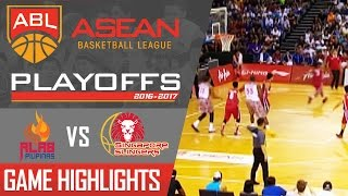 Download Alab Philippines vs Singapore Slingers | Game Highlights | ABL | April 2, 2017 Video