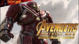 Download Avengers Infinity War Official Trailer 2 Thoughts - The Lord Speaks Video