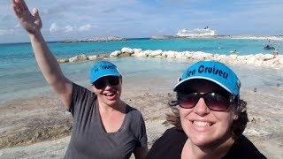 Download Great Stirrup Cay 🏖️ & Disembarkation :( Norwegian Cruise Vlog [ep19] Video