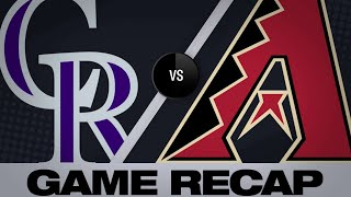 Download McMahon, Murphy lead charge against D-backs | Rockies-D-Backs Game Highlights 6/19/19 Video
