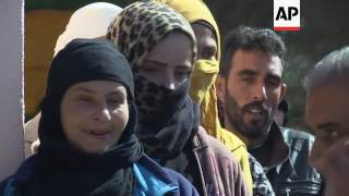 Download UNHCR distributes winter blankets to Syrian refugees Video
