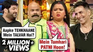 Download Bacha Yadav As BALA With Bharti, Akshay, Kapil, Ritesh | The Kapil Sharma Show Housefull 4 Video
