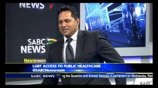 Download Gauteng Health MEC Steven Mabona on LGBT health access issues Video