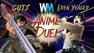 Download Anime Duel: Guts vs Eren Yeager Video