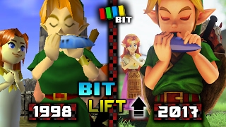 Download Legend of Zelda Ocarina of Time (1998) vs. (2017) Graphics | Bit Lift [TetraBitGaming] Video