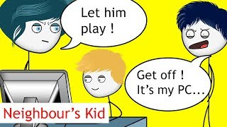 Download When a Neighbour's Kid wants to Play Games PART 1 Video