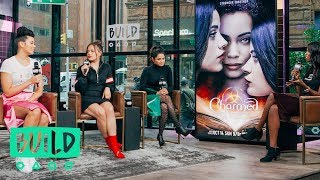 Download Melonie Diaz, Sarah Jeffery & Madeleine Mantock Discuss The ″Charmed″ Reboot Video