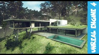 Download House in the woods. Architecture Real-time Unreal Engine 4 Video